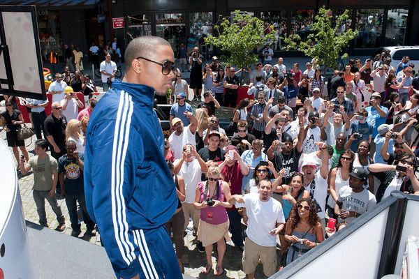 Skateboard and Bacardi kick it old school in New York with NAS