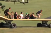 The World's Largest Skateboard Is On the Move