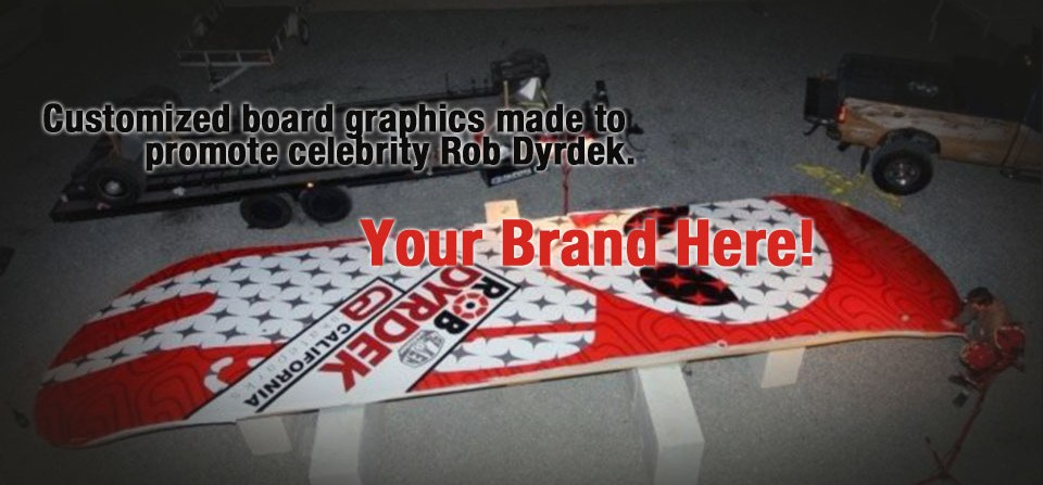 World's Biggest Skateboard + Your Brand = Hit!